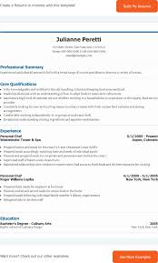 resume examples for chefs example experience and certifications training and educations chef personal chef resume