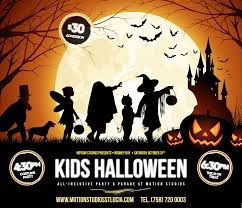 kids halloween party u2013 motion studios st lucia