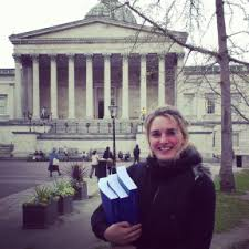 Defending your PhD thesis in    the United Kingdom   Researching     Verena Br  hler at UCL in London