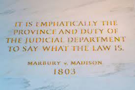 Marbury v  Madison  Judicial Review help with coursework