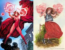 scarlet witch costume comics bel illustrate scarlet witch re design what women want in