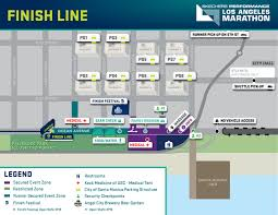 Map Of Detroit Metro Airport by 2017 La Marathon Will Bring Major Street Closures Sunday Curbed La