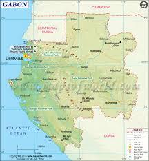 Africa Google Maps by Gabon Map Map Of Gabon