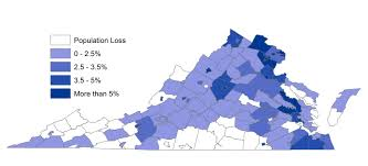 Map Of Virginia Counties And Cities by Virginia Statistics Facts And Statistics For Education And