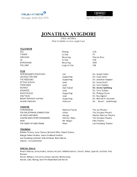 actors resume examples beginner actor resume free resume example and writing download acting resume