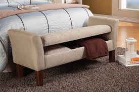 beige fabric storage bench steal a sofa furniture outlet los