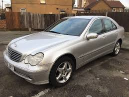 mercedes benz c200 kompressor manual silver 2002 in new cross