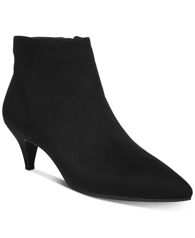 Circus by Sam Edelman Kirby Pointed Toe Ankle, Black Micro,
