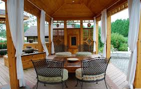 Enclosing A Pergola by How To Customize Your Outdoor Areas With Privacy Screens