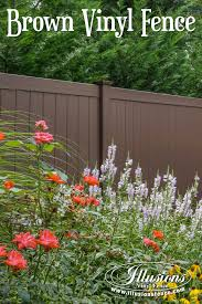 17 fence ideas that add curb appeal to your home illusions vinyl