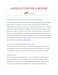 How To Write A Cover Letter 28 Cover Letter How To Cover Letter Samples And Writing