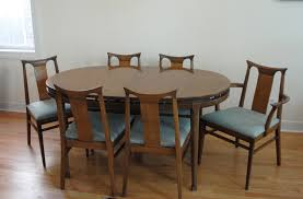 mid century dining table and chairs awesome dining room table for