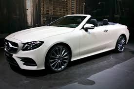 new 2017 mercedes e class cabriolet prices and specs revealed