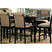 Amazoncom Coaster Hyde Counter Height Square Dining Table With - Counter height kitchen table
