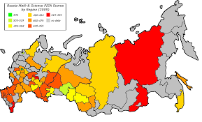 Former Soviet Union Map Map Of Natural Population Growth In The Former Ussr In 2012