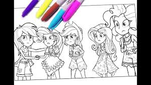 my little pony coloring pages mlp coloring for kids equestria