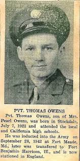 Pvt. Thomas Owens, served in WWII - owens-thomas