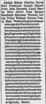 Hubert Blaine Wolfeschlegelsteinhausenbergerdorff Sr.