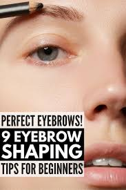 best 25 how to shape eyebrows for beginners ideas on pinterest