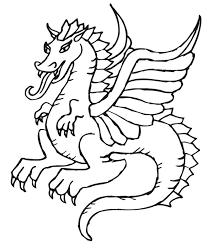 draw coloring pages dragons 63 gallery coloring ideas