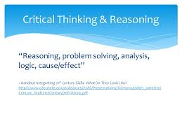 NSCSD High Yield Indicator   Synthesis Critical Thinking Problem