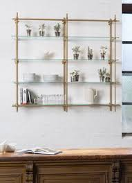 Kitchen Shelving Open Concept Kitchen Shelves Brass Pipe Like Shelves Make This A