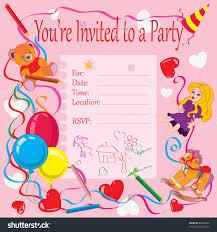 Create Birthday Invitation Card Online Beautiful Kids Birthday Party Invitation Cards 68 About Remodel