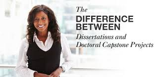 The Difference Between Dissertations and Doctoral Capstone Projects Capella University