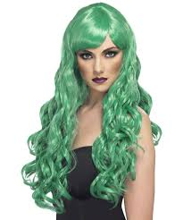 green halloween wig costume wigs about costume shop page 4