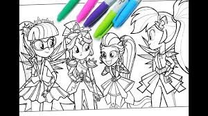 My Little Pony Colouring Pages My Little Pony Coloring Book Mlp Coloring Pages For Kids Equestria