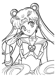 sailor moon coloring pages printable szukaj w google sailor