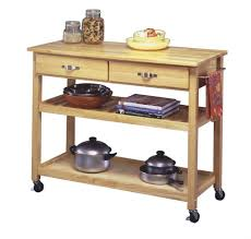 Kitchen Cart Ideas Kitchen Room Design Diy Wooden Kitchen Cart In Natural Finish
