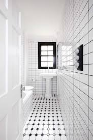 Black And White Small Bathroom Ideas 93 Best Black And White Bathrooms Images On Pinterest Bathroom