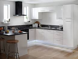Built In Kitchen Cabinets White Shaker Kitchen Cabinets Pull Down Faucet Mix Smooth Surface
