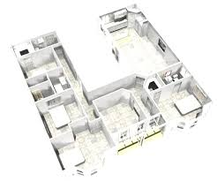 shaped ranch house plans u with pool award cool corglife