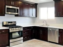 ontario birch espresso pre assembled kitchen cabinets
