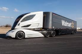 volvo 18 wheeler dealer walmart debuts wave semi truck prototype motor trend wot