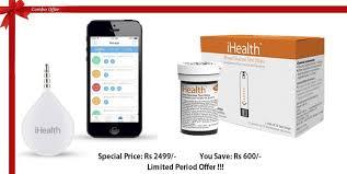 ihealth ihealth align portable glucometer u0026 ihealth blood glucose