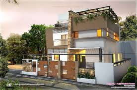 awesome contemporary residence in 2000 sq feet house design plans