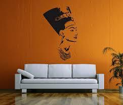 amazon com ik58 wall decal sticker room decor wall art mural amazon com ik58 wall decal sticker room decor wall art mural profile of the egyptian queen nefertiti living room bedroom interior home kitchen