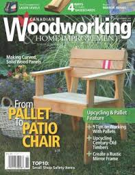 Canadian Woodworking Magazine by Covers Sell 2017 March