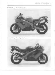 kawasaki zx9r 98 99 service manual pdf download