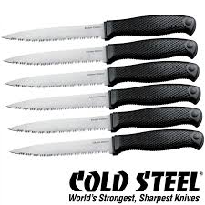 Ontario Kitchen Knives Barringtons Swords Cold Steel Kitchen Knives Classic Set Of Six