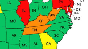 Map Of The New England States by Which Drug Is Your State Most Addicted To This Map Reveals A