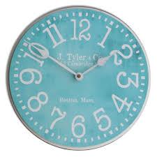 turquoise clock the big clock store
