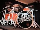 joey kramer drum set up