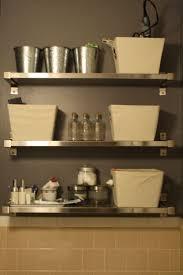 Bathroom Shelving Ideas by 47 Best Bathroom Storage Images On Pinterest Small Bathroom