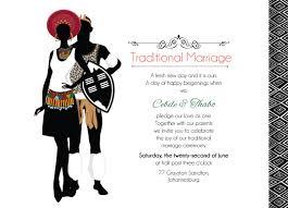 Invite Cards Zulu Wedding Downloadable South African Zulu Traditional Wedding