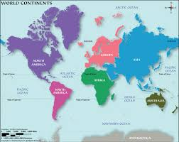 Blank Map Of Afro Eurasia by 7 Continents Continents Of The World How Many Continents Are There