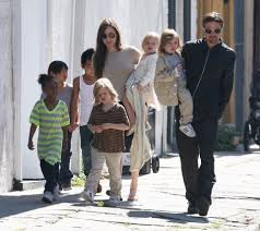brad pitt and angelina jolie u0027s kids are running riot boozing at